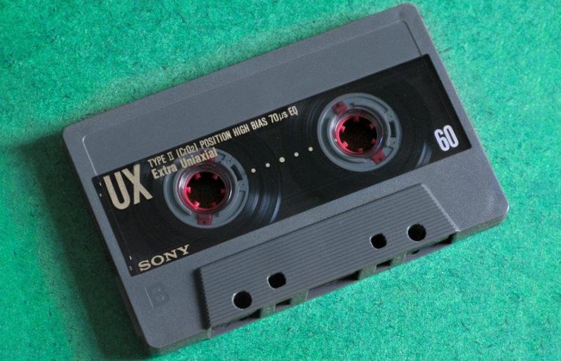 Просто хорошая работа: кассета Sony UX 60 1990 года