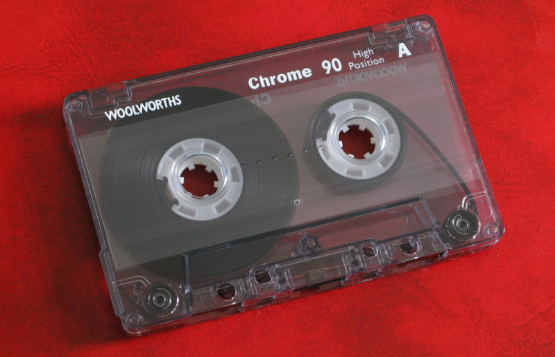 Кассеты бренда британского ритейлера Woolworth: Chrome 90