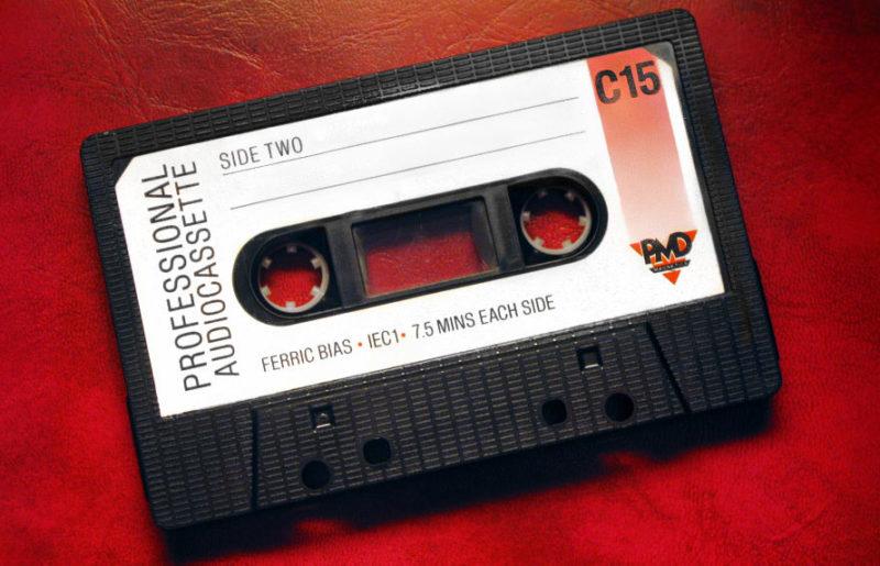 Профессиональная аудиокассета PDM Magnetics C15