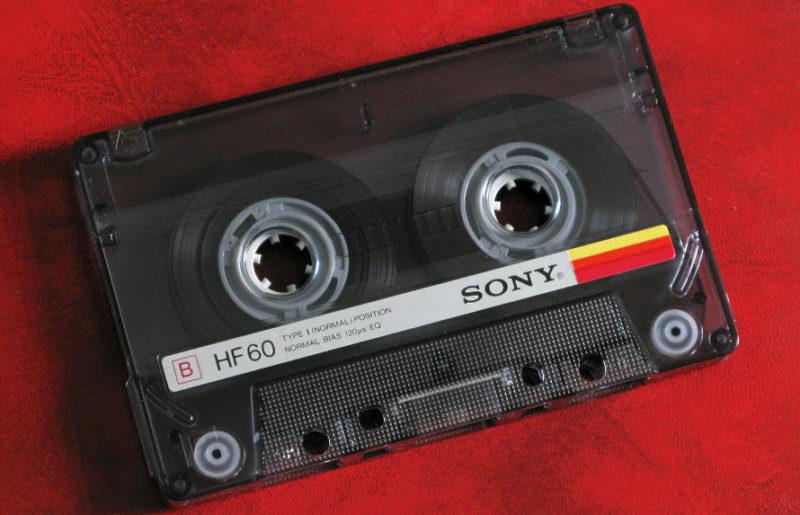 Кассета начального уровня 85-го: Sony HF 60