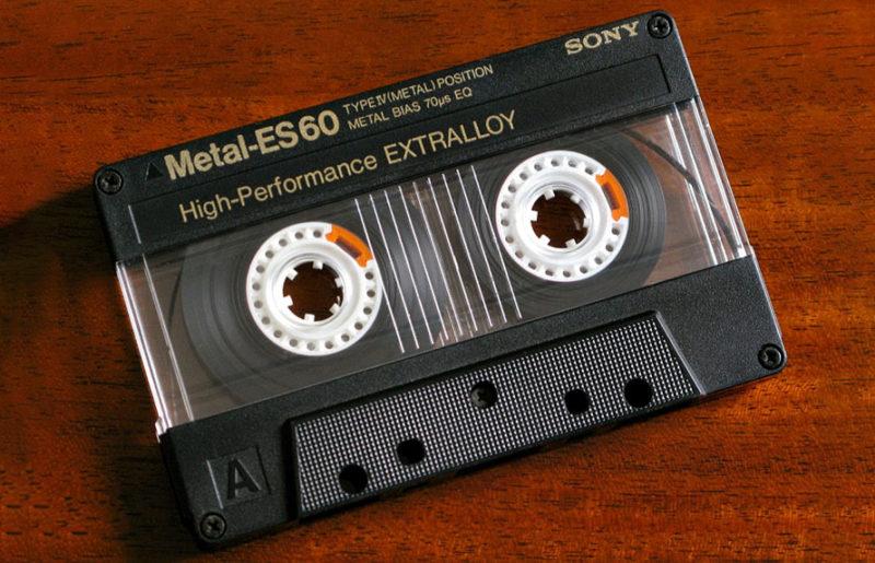 Sony Metal-ES 60: высшая лига кассет 1987 года