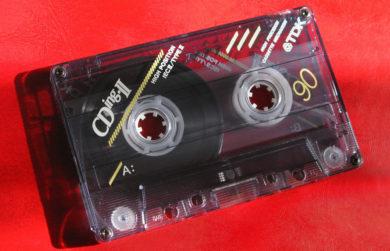 """Начальный """"хром"""" кассетного титана: TDK Cding C90 1993 года"""