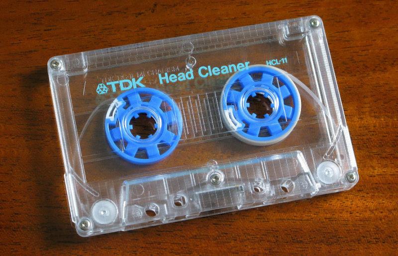 Эффектная очистка магнитных головок: кассета TDK HCL-11