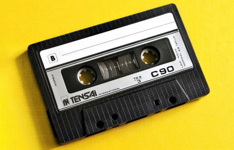 Корейский кассетопром: Tensai International C90 1986 года