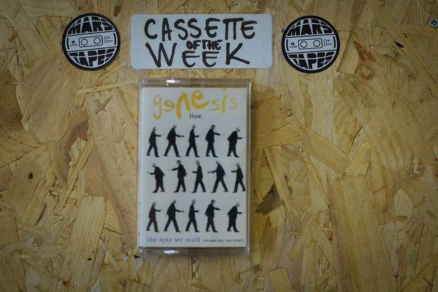 Кассета недели в магазине - концертная запись группы Genesis