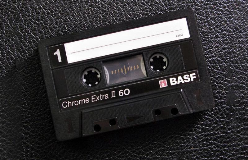 Аудиокассета Basf Chrome Extra II 60 - эволюция классического корпуса